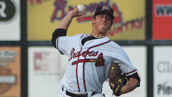 Lucas Sims is a hometown boy who the Braves have high expectations for. Courtesy of David Cross (h/t MiLB.com)