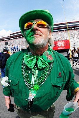 On St. Patrick's Day weekend, everyone at Bristol is a wee bit Irish.