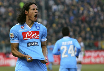 Cavani is coveted by a host of European clubs, but only a select few can afford him