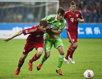 Bayern's attacking power is propelled by the speed of Muller and Ribery