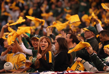 Athletics fans.