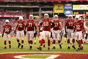The Cardinals must upgrade their offensive line.