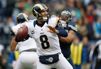 The Rams must help Sam Bradford.