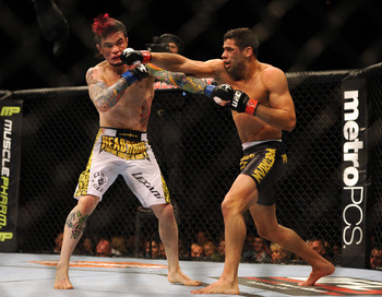 Barao in previous action