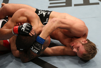 Previous Nelson action  (Photo by Josh Hedges/Zuffa LLC/Zuffa LLC via Getty Images)