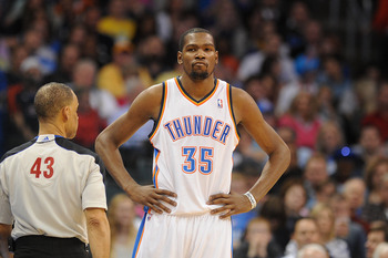 Oklahoma City Thunder's Kevin Durant