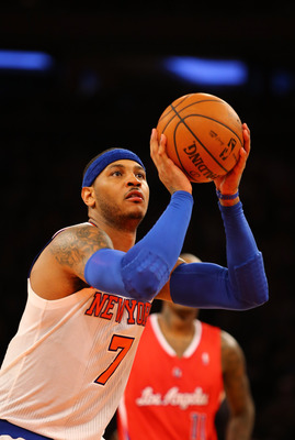 Melo's explosiveness on offense has led the Knicks to one of the best teams in the East.