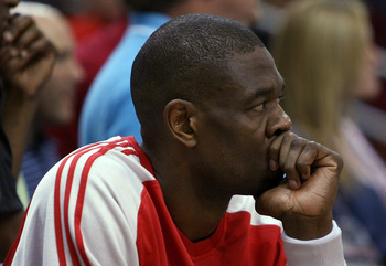 Even when he was over 40, Mutombo could still bring it.