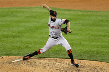Sergio Romo will take over the closer job full-time in 2013.