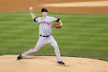 Matt Cain has become the leader of the Giants pitching staff.