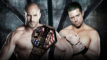 Antonio Cesaro vs. The Miz (Courtesy of WWE.com)