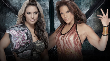 Kaitlyn vs. Tamina Snuka (Courtesy of WWE.com)