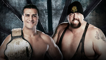 Alberto Del Rio vs. Big Show (Courtesy of WWE.com)