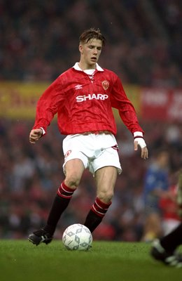 David Beckham made his Manchester United debut in 1992.