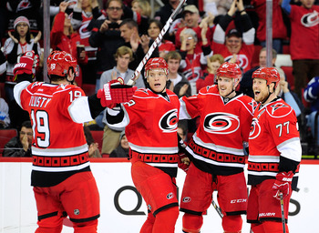 Offseason acquisitions are getting comfortable and the Hurricanes are settling in atop the Southeast Division.