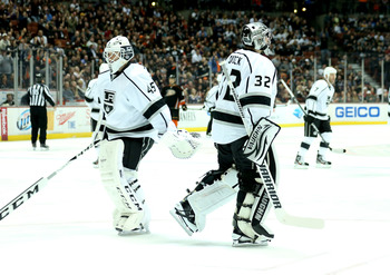 Things aren't going well for Jonathan Quick in February.