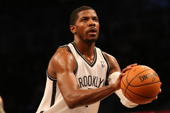 Brooklyn Nets' Joe Johnson