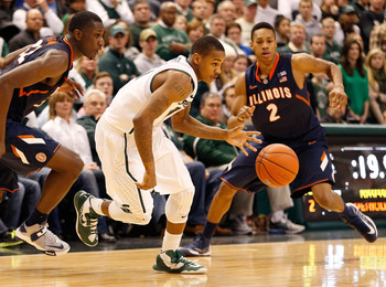 Keith Appling's offense and defense are vital to the Spartans.
