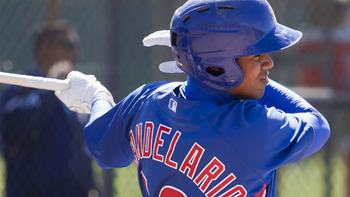 Jeimer Candelario has a lot of offensive upside and looks like one of the most exciting players in a strong system.