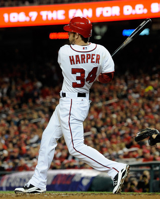 Bryce Harper will enter 2013 drafts as a valuable commodity.