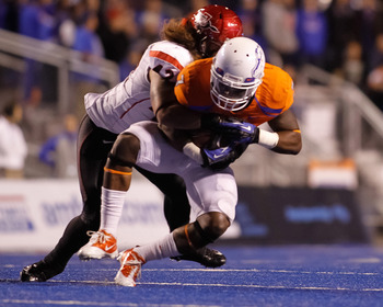 The Aztecs did a nice job of containing Boise State's offense at home in 2012.