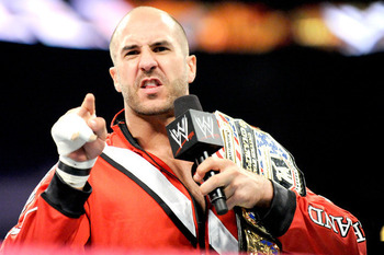 Antonio Cesaro, still champ (Photo from WWE.com)