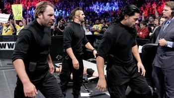The Shield now 2-0 (Photo from WWE.com)