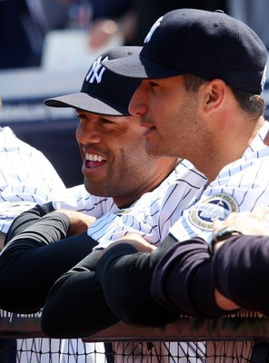 Mariano Rivera (left) and Andy Pettitte (right) have been crucial to the success of the Yankees.