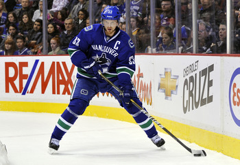 Henrik Sedin has yet to score this season.