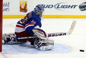 Lundqvist is not playing at the same level that earned him the Vezina last year.