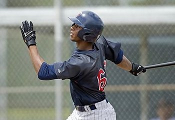Twins outfield prospect Aaron Hicks is expected to compete for the outfield spot vacated by Denard Span