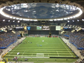 Stade Olympique (Photo from Wikipedia Commons, uploader Baiji)