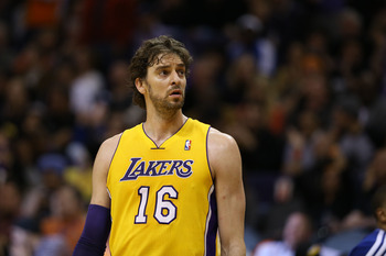 Los Angeles Lakers' Pau Gasol
