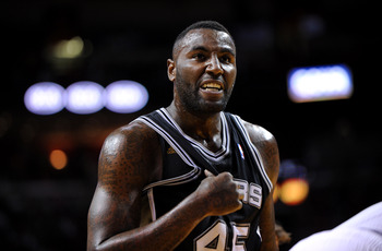 San Antonio Spurs' DeJuan Blair