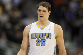 Denver Nuggets' Timofey Mozgov