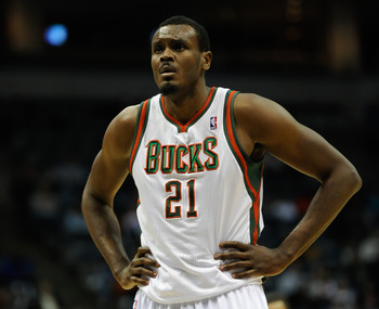 Milwaukee Bucks' Samuel Dalembert