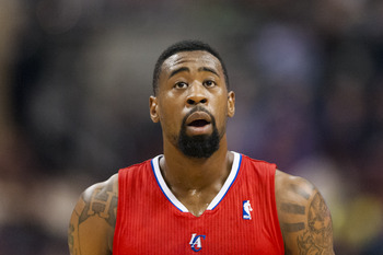 Los Angeles Clippers' DeAndre Jordan