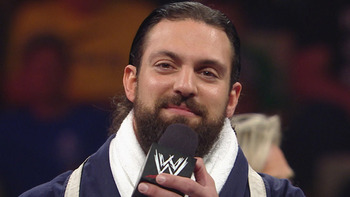 Sandow via WWE.com