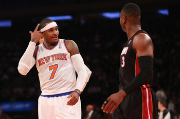 Carmelo Anthony didn't even play in the teams' second meeting, and Miami lost anyway.