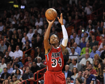 Miami seems intent on riding Ray Allen, so he needs to regularly produce.