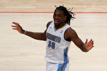 Kenneth Faried will be shining that smile come playoff time