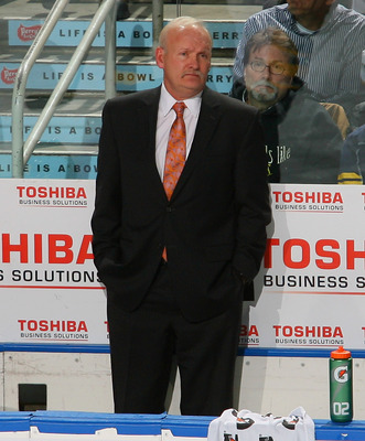 Lindy Ruff stumbled to a 6-10-1 start.