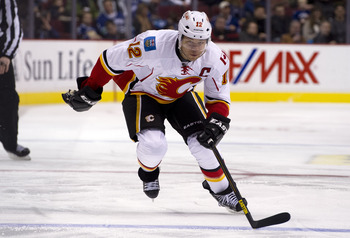 It's hard to imagine Jarome Iginla in anything other than a Flames jersey.