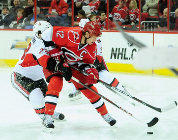 Eric Staal has made his case for MVP through the Canes' first 14 games.