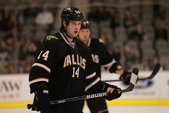 Jamie Benn scored a career-high 26 goals in 2011-12.