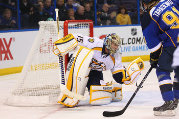 Pekka Rinne will get some Hart Trophy consideration if he continues at this pace.