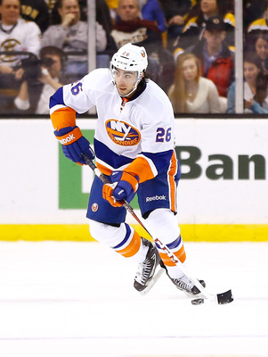 Matt Moulson has three straight seasons of 30 goals.