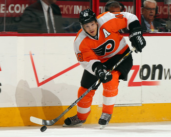 Flyers fans expect more out of Danny Briere.