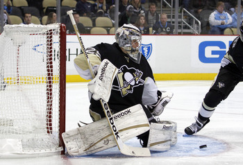 Marc Andre-Fleury has something to prove come springtime.