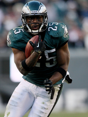 Starting Philadelphia running back LeSean McCoy.